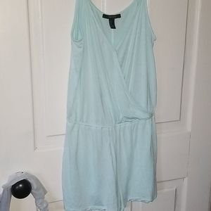Forever 21 Romper in tiffany blue color